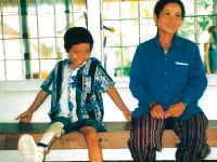 Support to the Red Cross Prosthetic Limb Center in Battambang, Cambodia (until 2000)