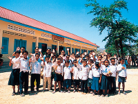 School Construction Support Project in Cambodia (until 2003)