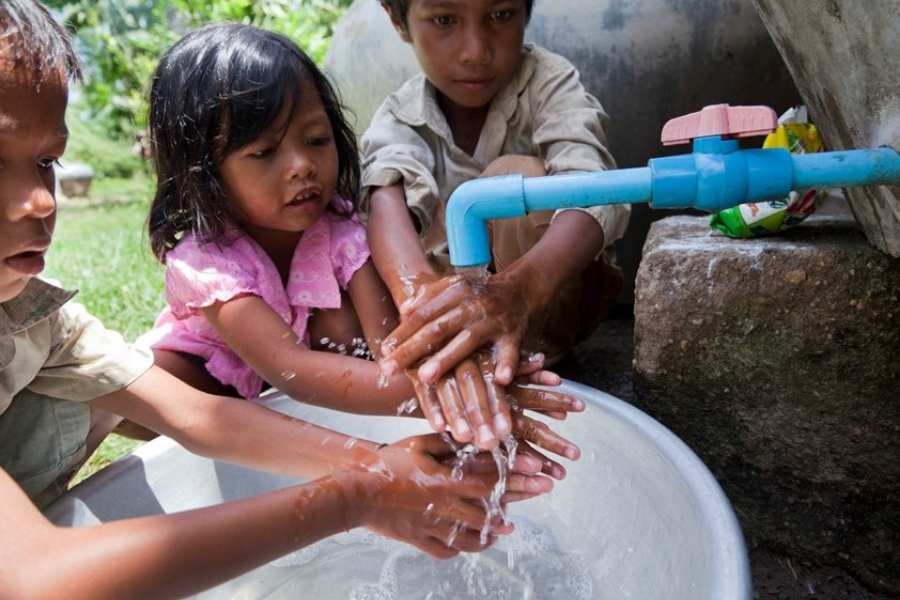 AEON UNICEF Safe Water Campaign Providing Safe Water for Children in Asia