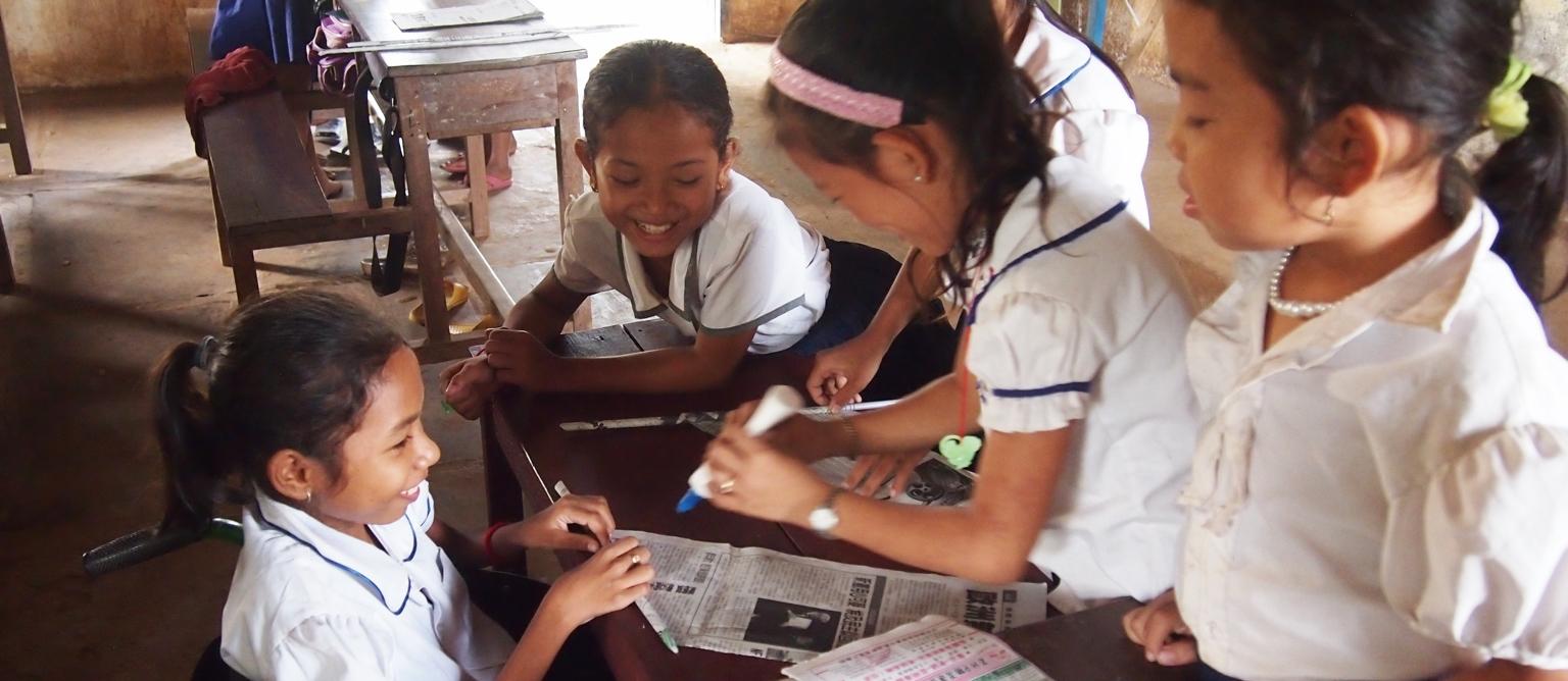 アジア障がい者支援募金実施中!! 11月4日から12月3日まで全国のイオングループのお店で「アジア障がい者支援募金」を実施しています。
